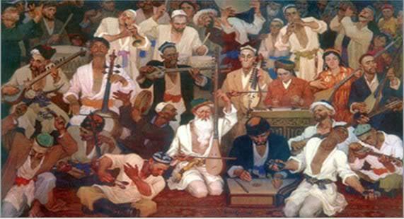 Insaniyet Medeniyet Ghezinisidiki Yultuz Uyghur  12 Muqami