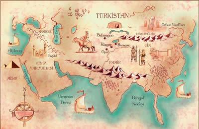 İpek-yolu-Haritası