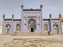 220px-Mausoleum_of_Yusuf_Khass_Hajib_main_building